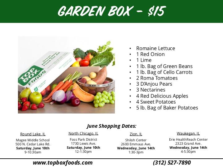 June 2017 Garden Box