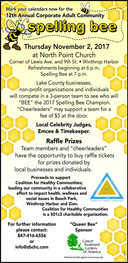 SpellingBee Mark Your Calendars 092017_ 1232602